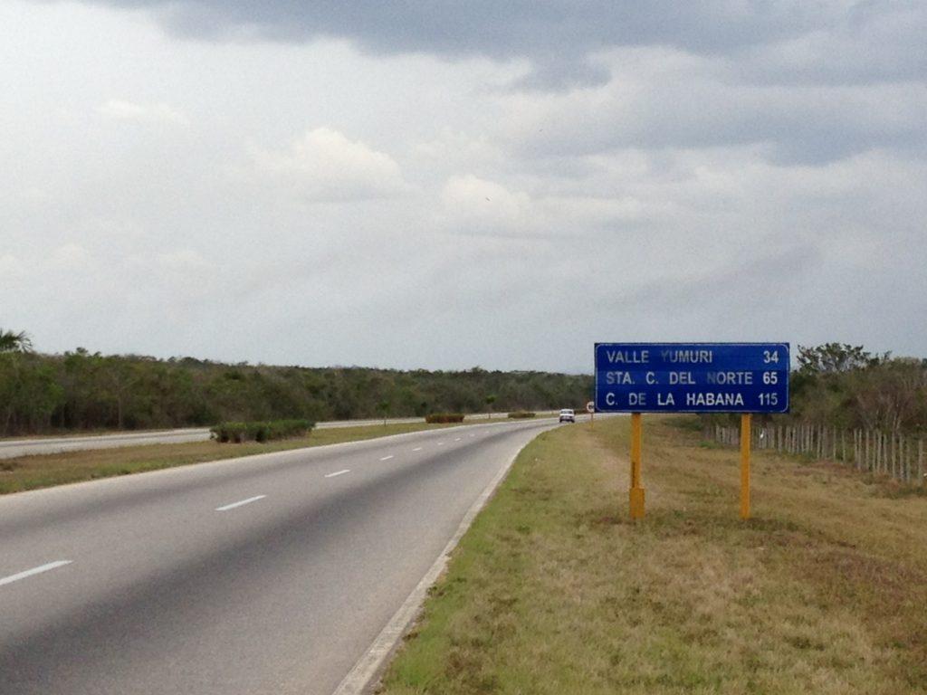 The Via Blanca to Matanzas