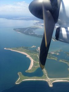Flying Porter out of the Toronto Island Airport