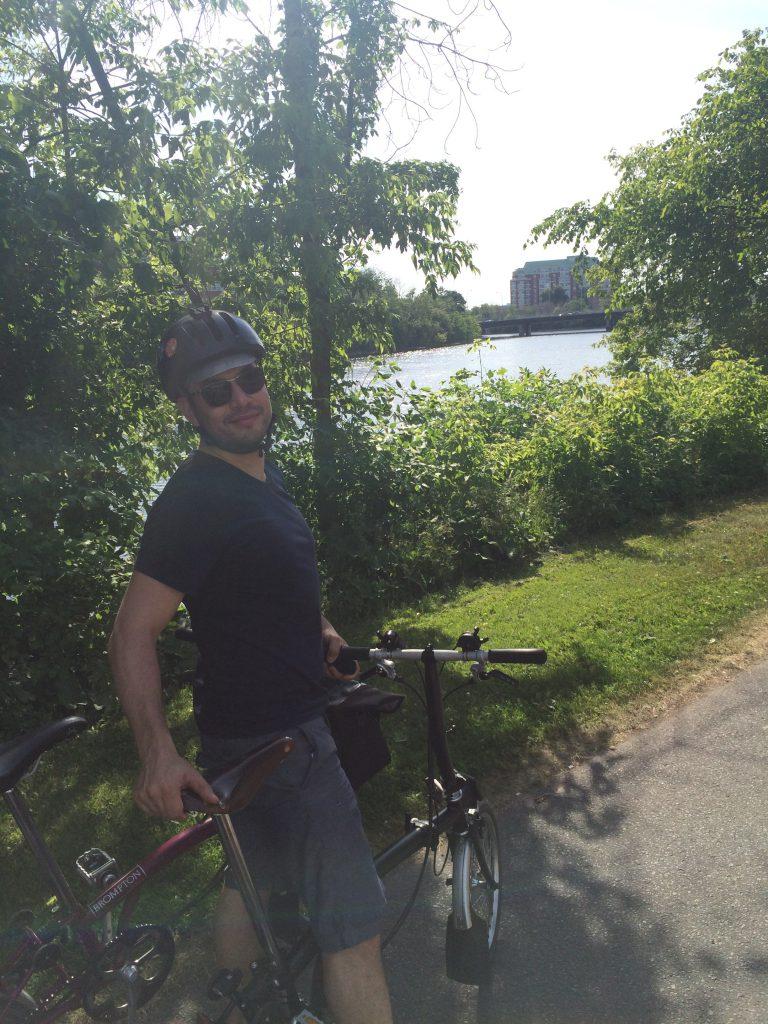 Ottawa - Rideau River Eastern Pathway - Pier