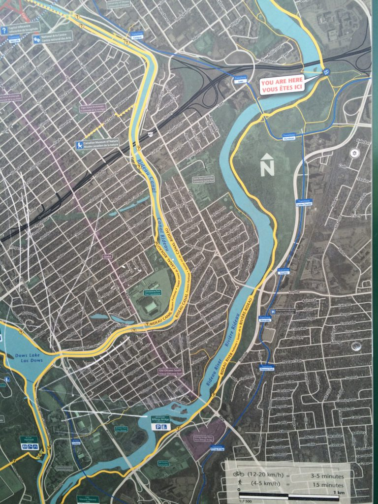 090 Rideau Eastern Pathway map