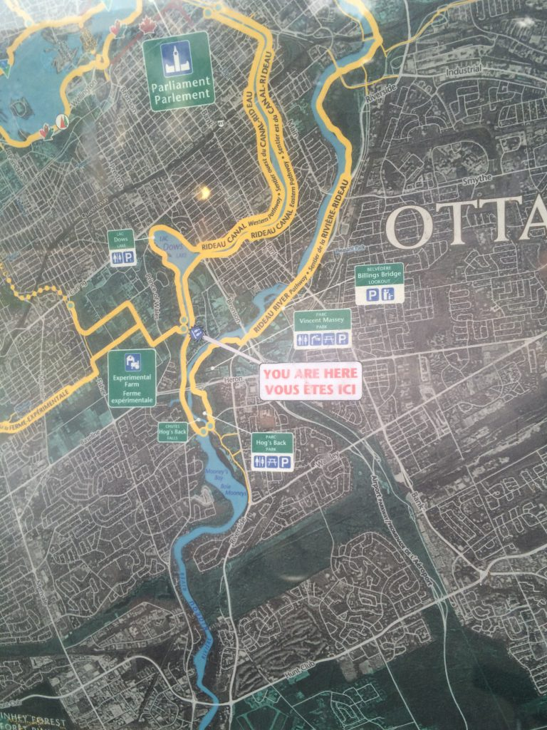 Ottawa - Capital Pathway map