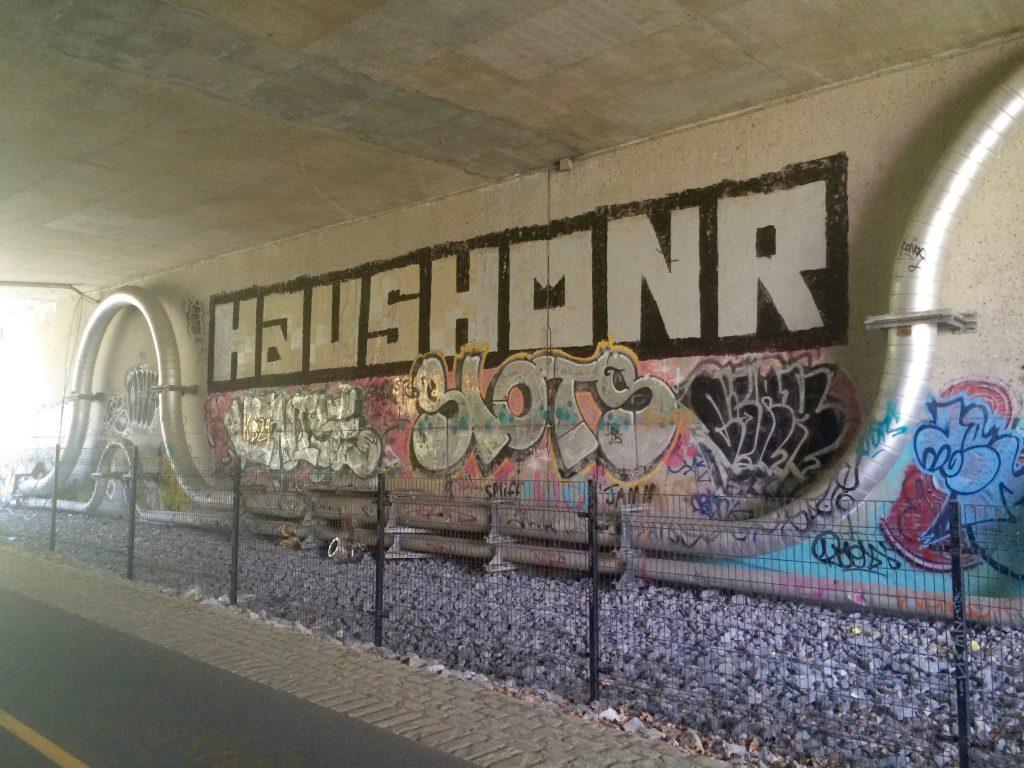 Ottawa: Graffiti under the Portage Bridge (1)