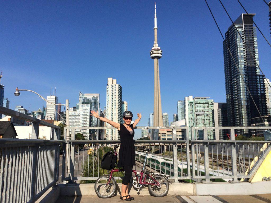 Ped Bridge + CN Tower arms