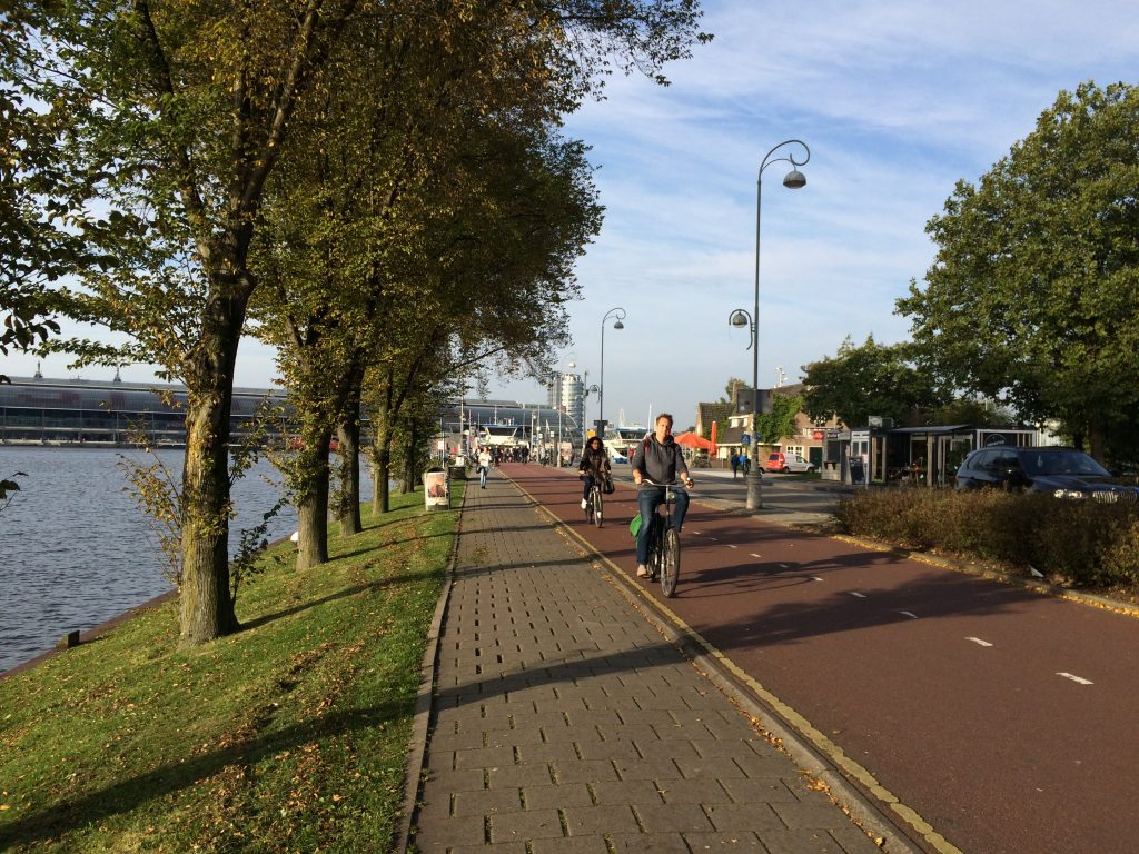 Cycle Route: Amsterdam to Waterland - Bromptoning