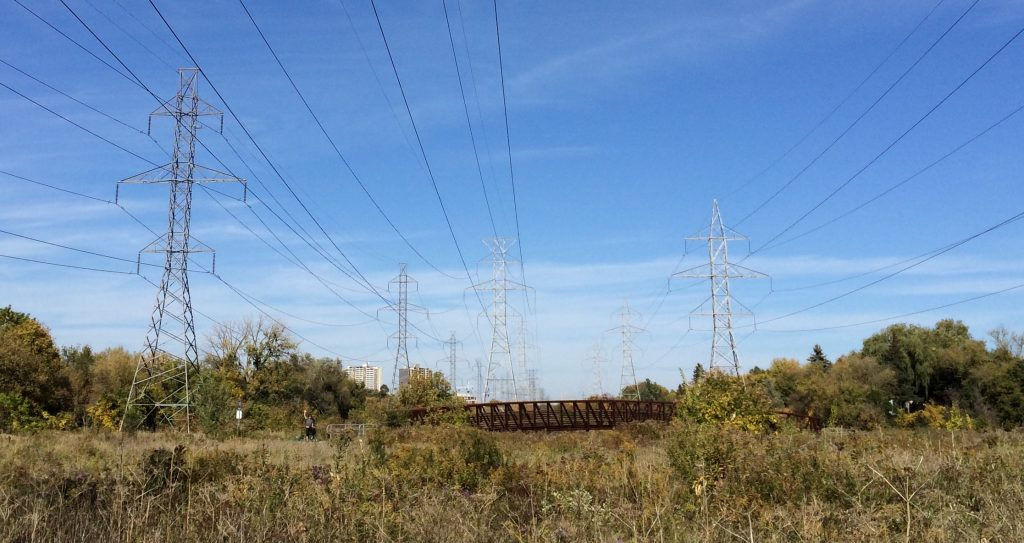Toronto Pan Am Path hydro corridor