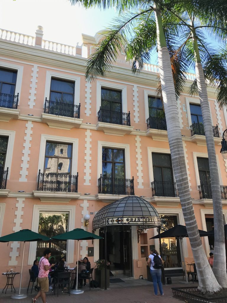 Gran Hotel, Merida, Mexico.