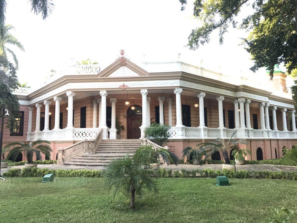 Big mansion on Paseo de Montejo in Mérida, Mexico.