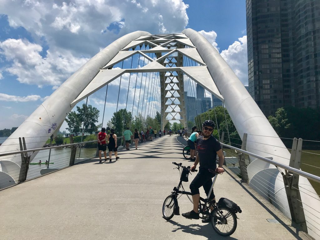 Humber Bay Arch Bridge, Toronto, Ontario, Canada
