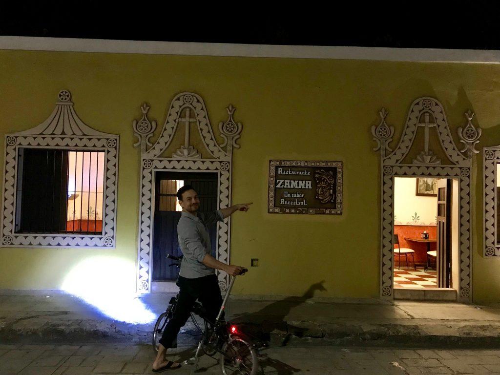 Restaurante Zamhn in Izamal, Mexico.