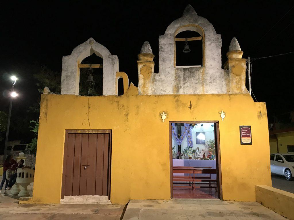 Chapel in Izamal, Mexico.