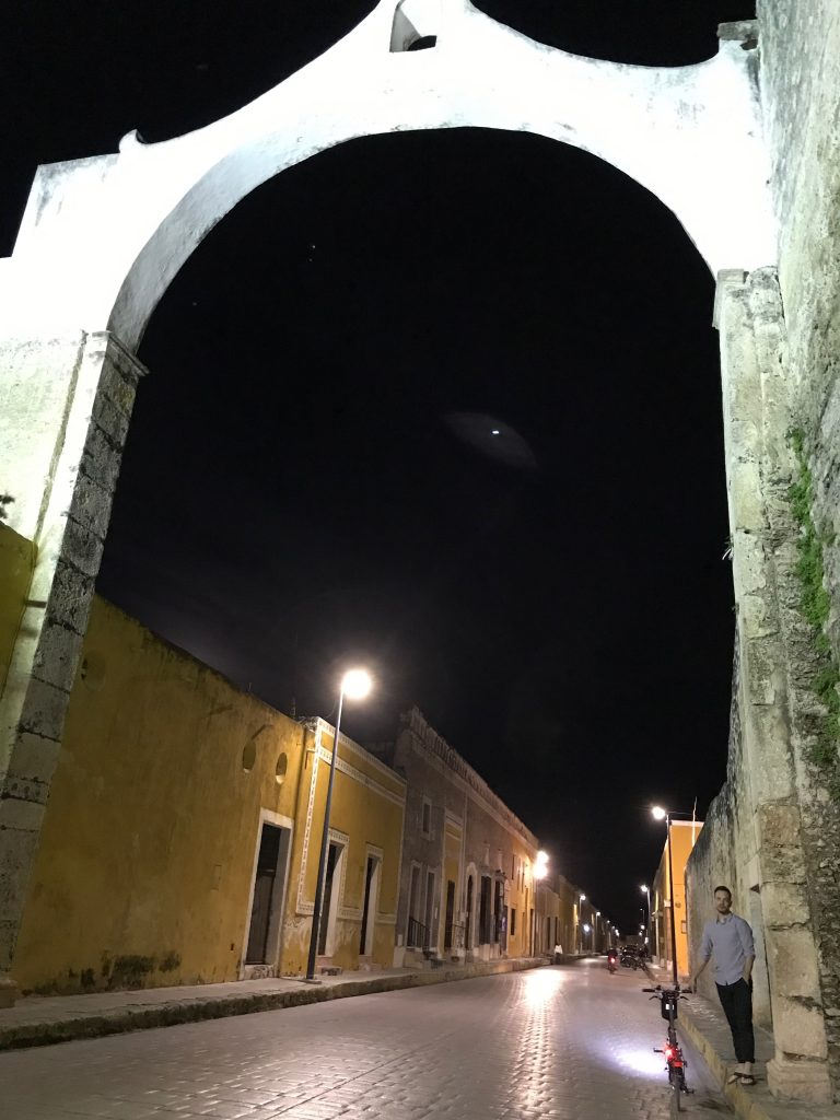 Old Arch in Izamal, Mexico.