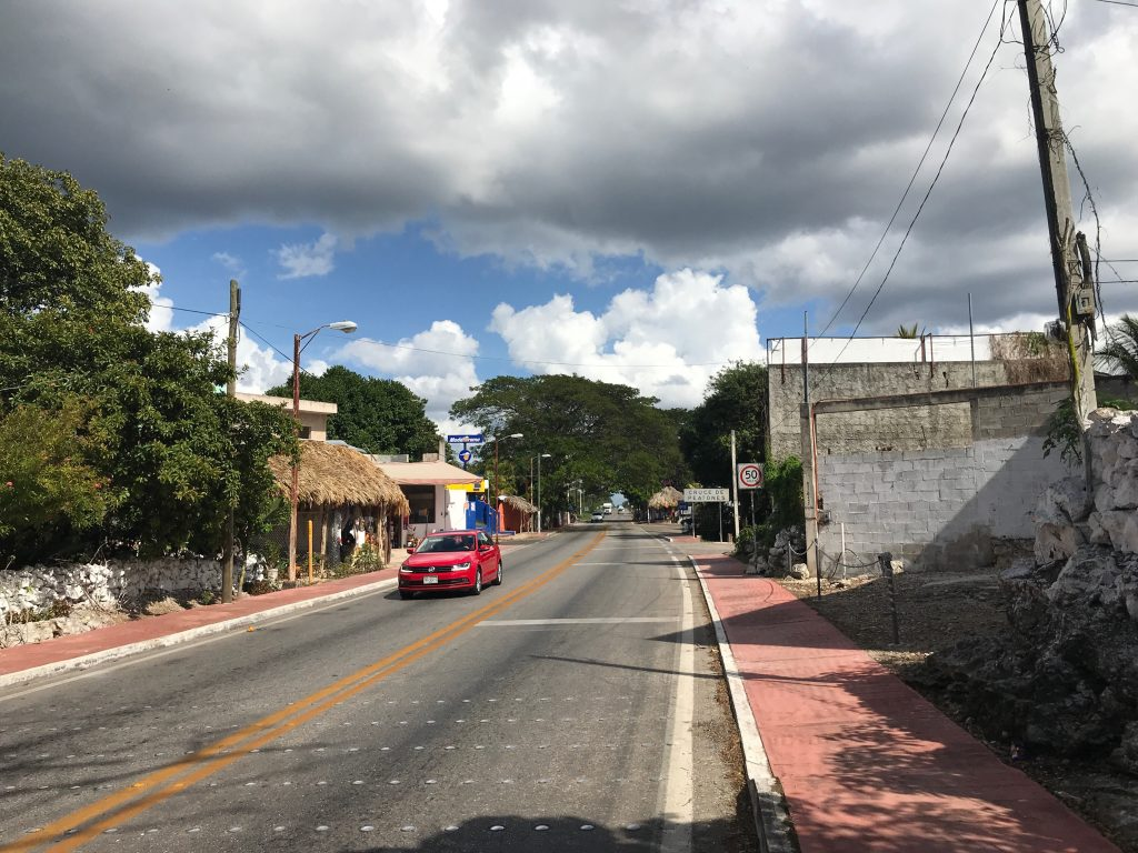 Tiny town of Cuncunul, Yucatan, Mexico.