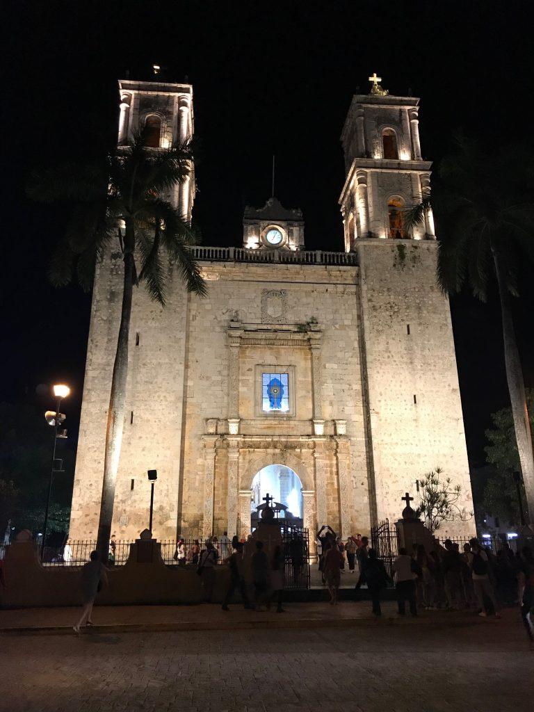 Iglesia de San Servacio, Valladolid, Mexico.
