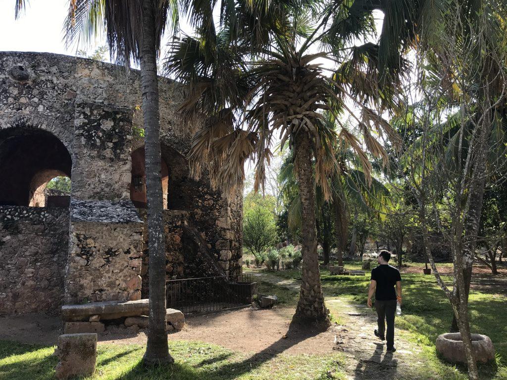 Convento de Sisal. Valladolid, Yucatan, Mexico.