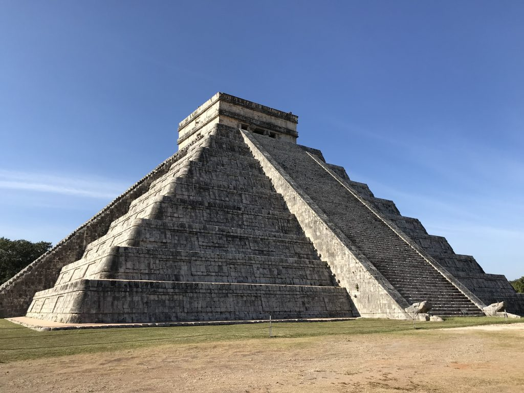 Pyramid, Chichen Itza, Mexico.