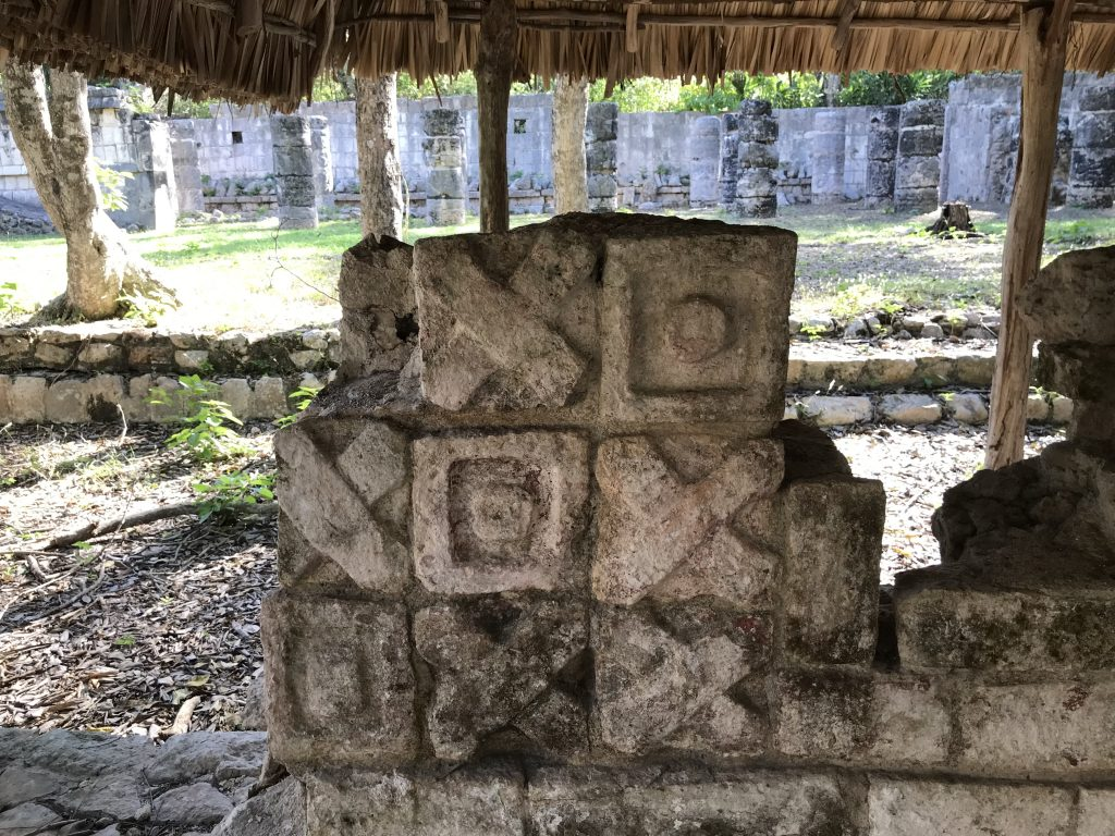 Did the Maya play tic-tac-toe? Chichen Itza, Mexico
