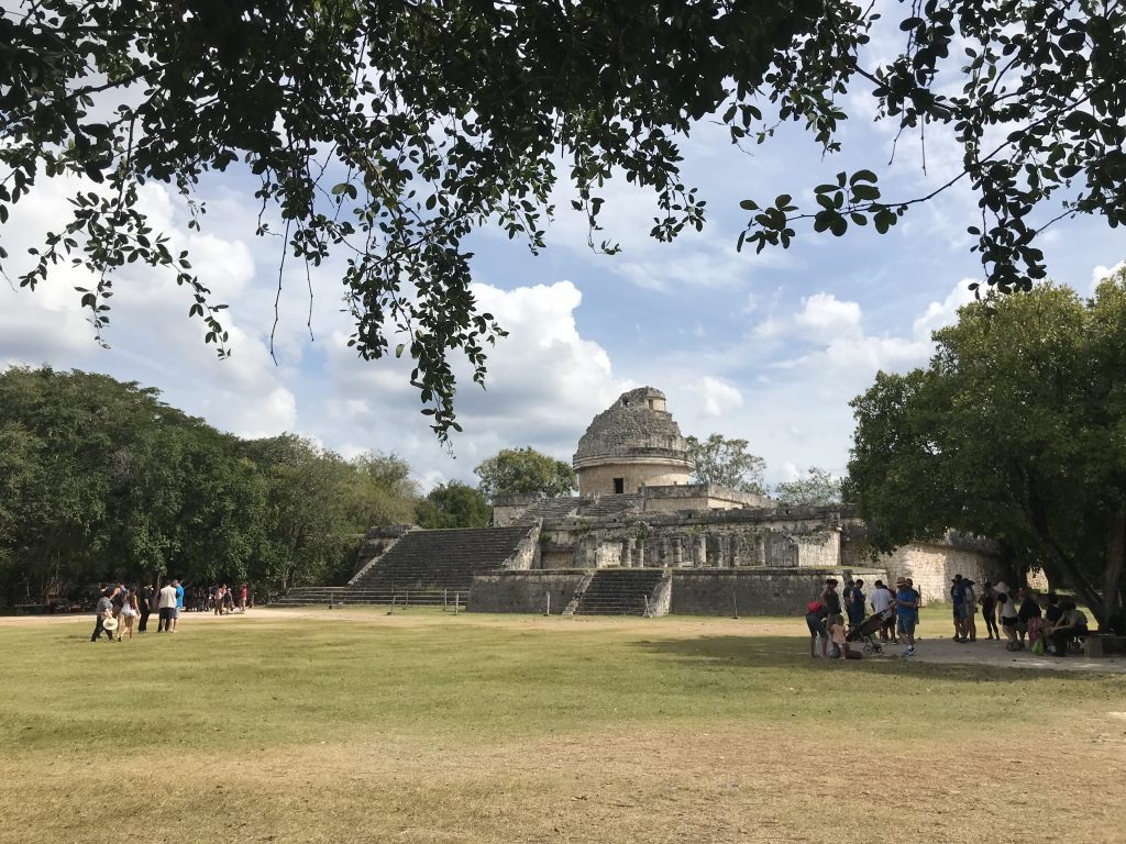 El Caracol (The Observatory), Chichen Itza, Mexico.