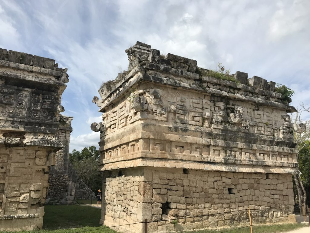 Ruins at Chichen Itza, Mexico.