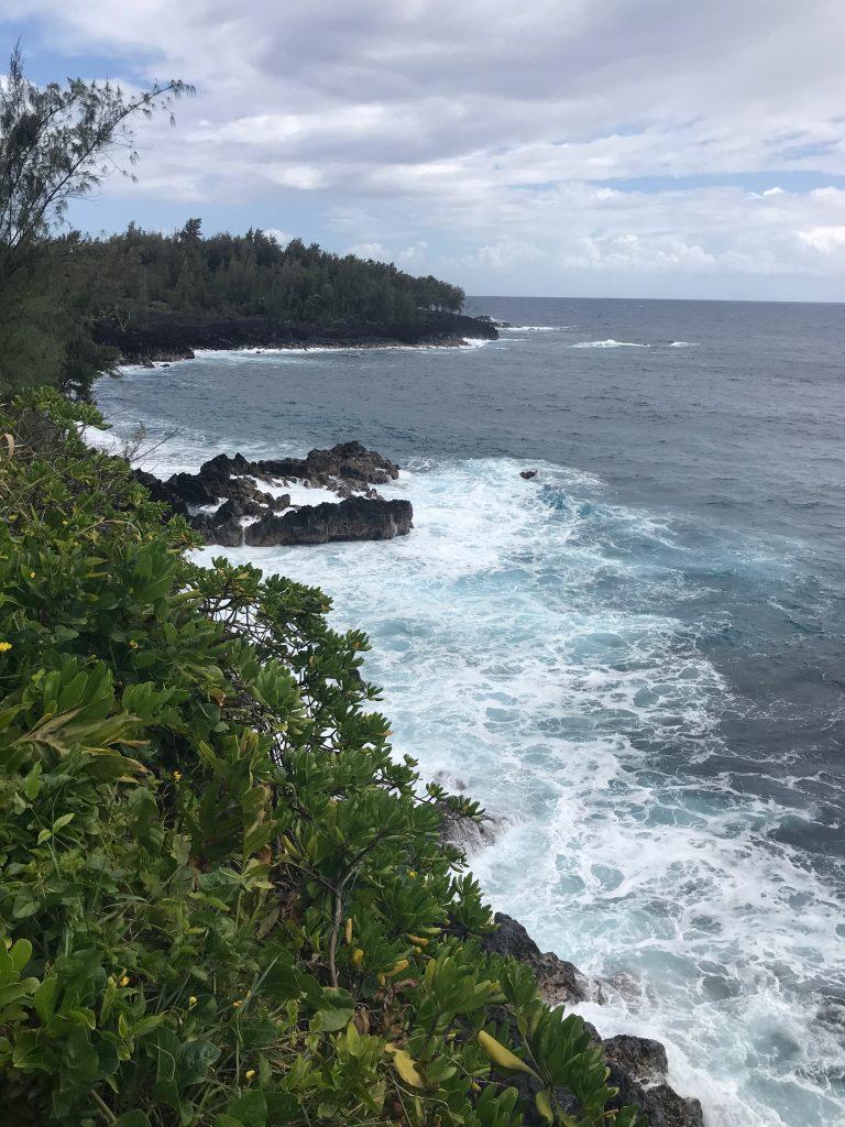 Coast view just before Kehena Beach. Puna, Hawaii