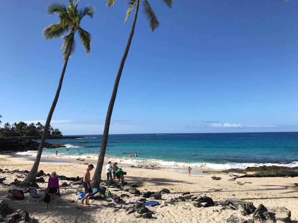 White Sands Beach, Kona, The Big Island, Hawaii